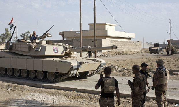 Правительственные войска заняли позиции в Мосуле