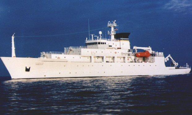 Китайский военный корабль перехватил американскую субмарину в международных водах