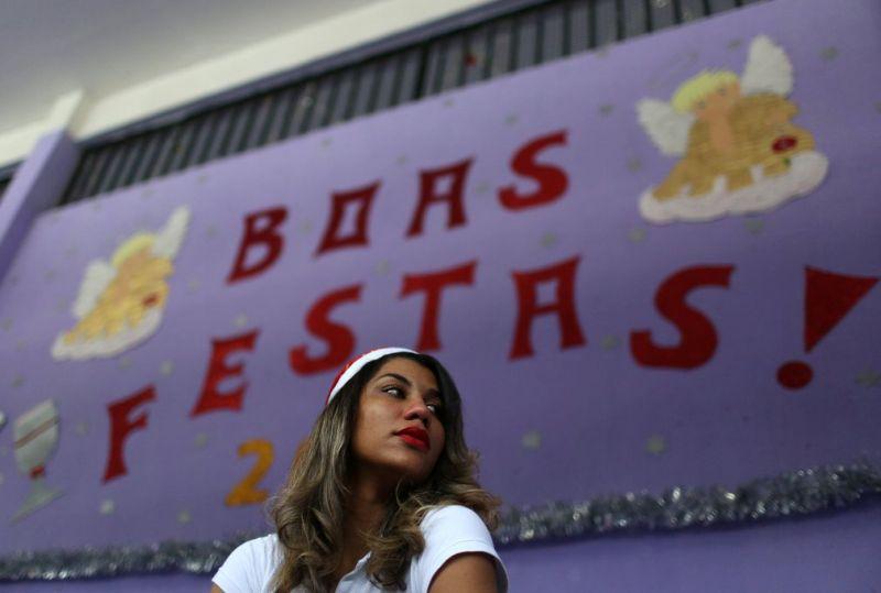 Рождество в женских тюрьмах в Бразилии