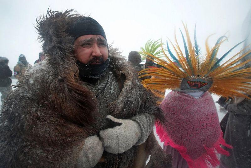 Протестующие в Северной Дакоте добились отмены строительства нефтепровода