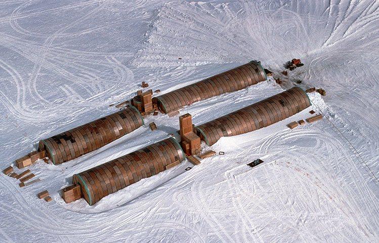 Халли и другие антарктические станции: фотоподборка