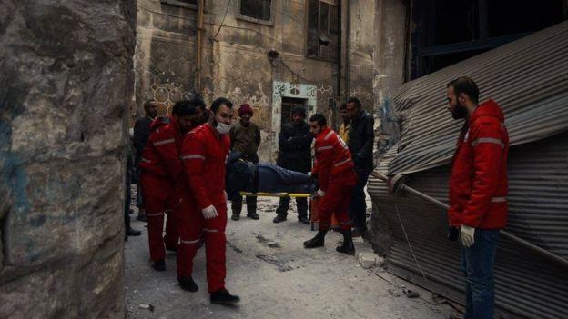 Правительственные войска временно прекратили освобождение Алеппо