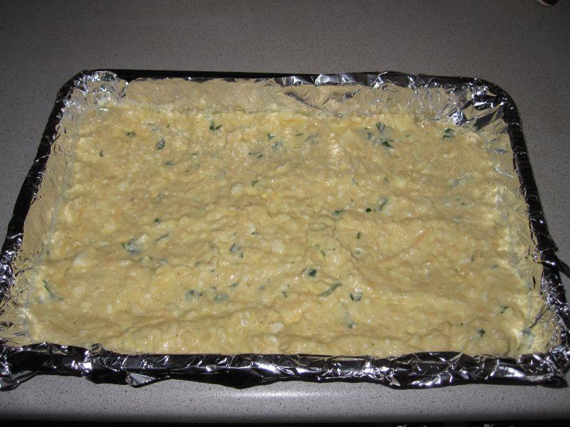 Сырная лепешка в духовке рецепт
