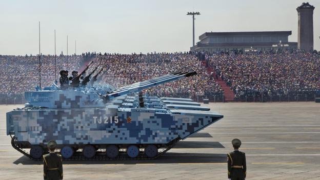 Почему китайская армия использует цифровой камуфляж