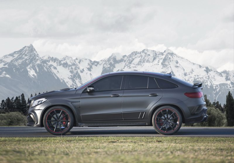 Mercedes-Benz GLE 63 AMG Coupe от Mansory