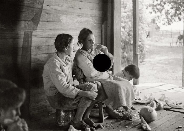Испорченные фотографии возрождающейся Америки