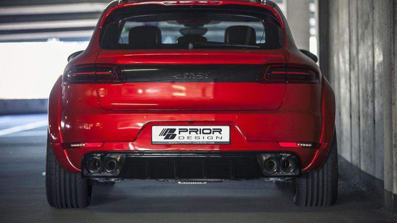 Обвес для Porsche Macan
