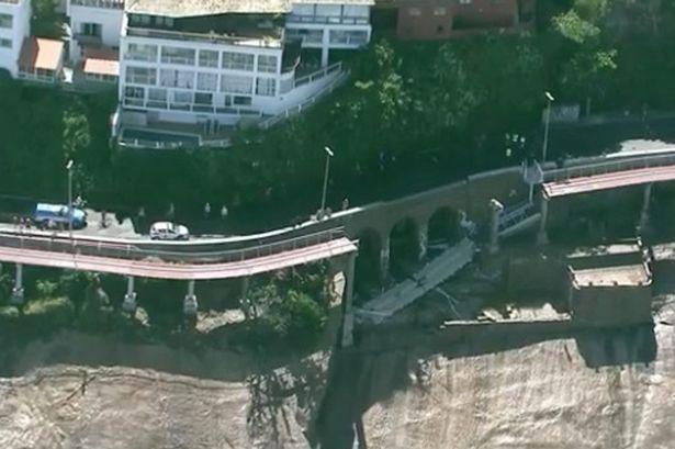 Пять человек пропало без вести в результате обвала велосипедного моста в Рио-де-Жанейро