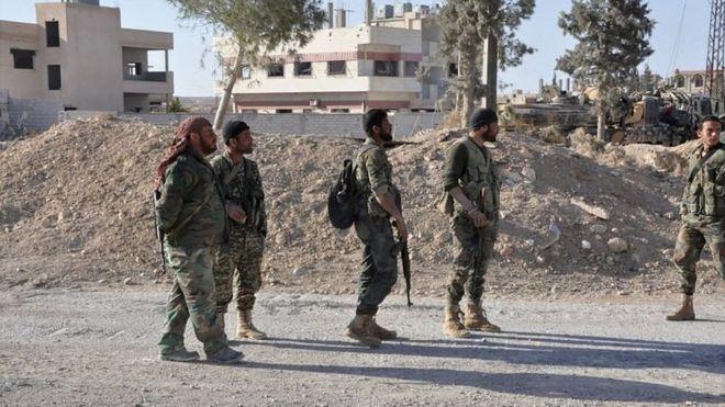 Сирийская армия освободила Эль-Карьятейн и продолжила наступление