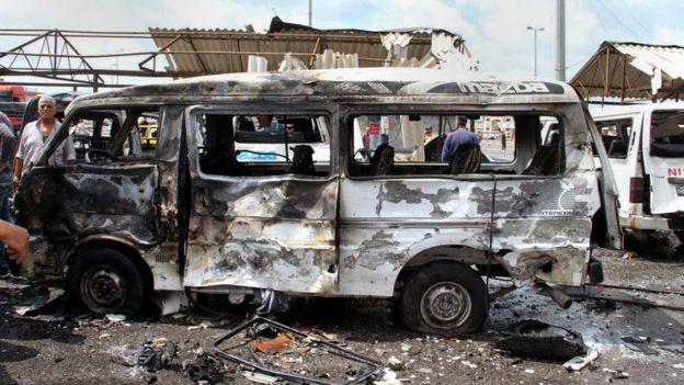 Серия терактов унесла жизни около 100 человек в Сирии