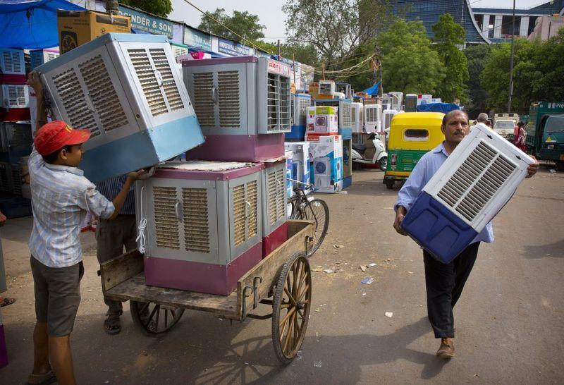 Жара в Индии побила многолетний рекорд