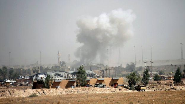 Правительственные войска Ирака заняли центр Эль-Фаллуджи