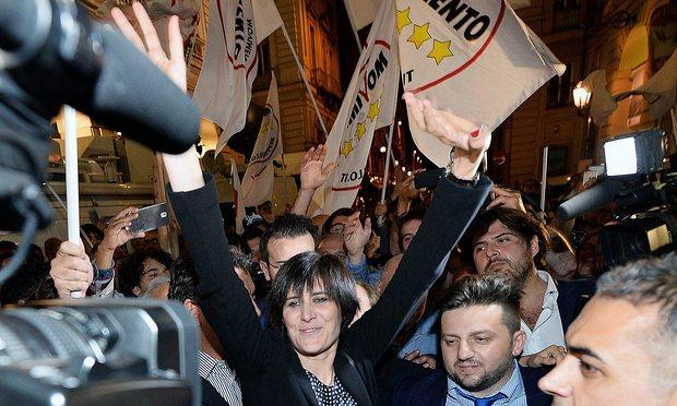 На выборах мэра в Риме и Турине победили евроскептики