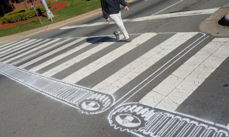 Самые необычные в мире пешеходные переходы
