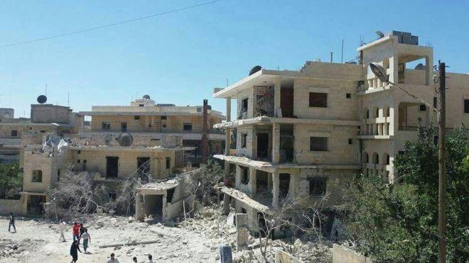 В результате авиаудара в Сирии разрушена детская клиника