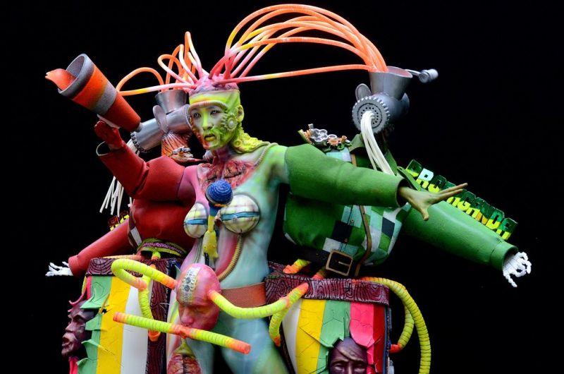 Лучшие работы с фестиваля боди-арта в Австрии