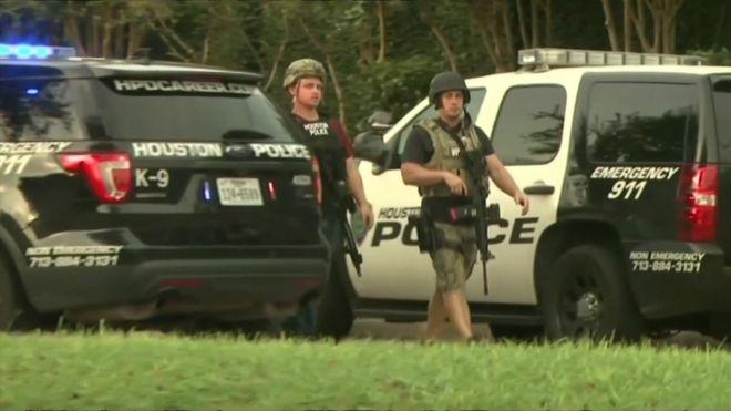 В Техасе стрельба: полиция застрелила стрелка
