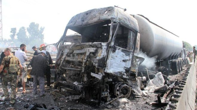 В результате терактов в Сирии погибли как минимум 40 человек