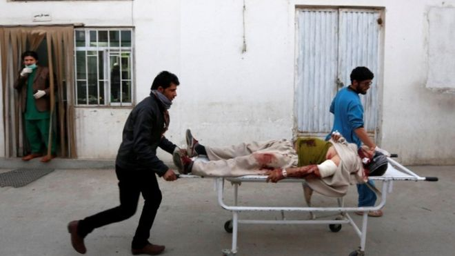 Десятки людей погибли в результате теракта в Кабуле