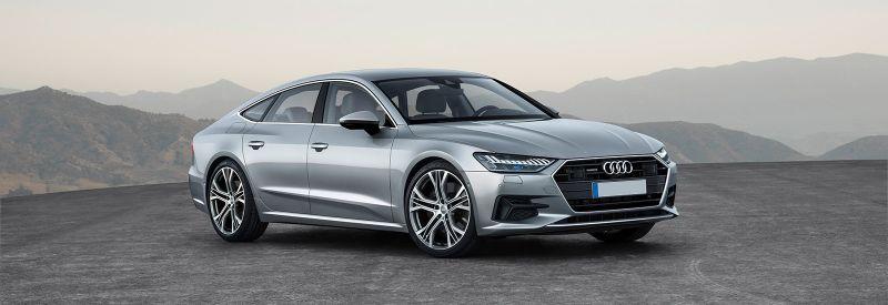Audi покажет последнюю модель A7 на автосалоне в Детройте в январе 2018 года