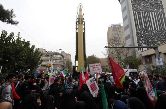 Иран показал мощный ракетный комплекс в 38-ю годовщину захвата посольства США
