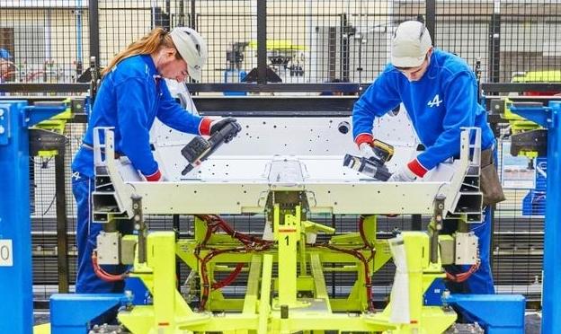 Производство Renault Alpine A110
