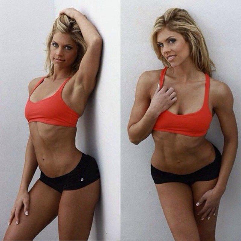 15 самых горячих фитнес-няшек