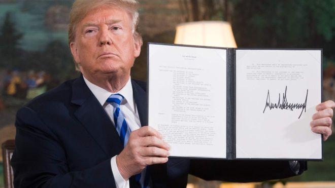 США возобновили санкции против Ирана