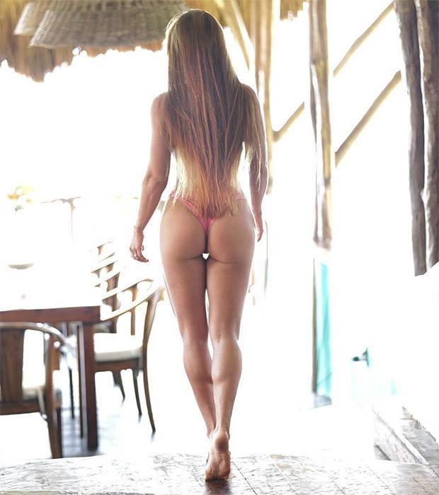 Фитнес-дива Мишель Левин порадовала подписчиков новой порцией пикантных фото