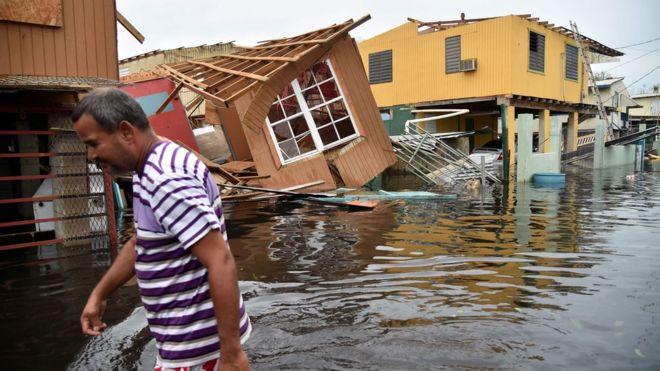 Ураган Мария убил 4600 человек в Пуэрто-Рико