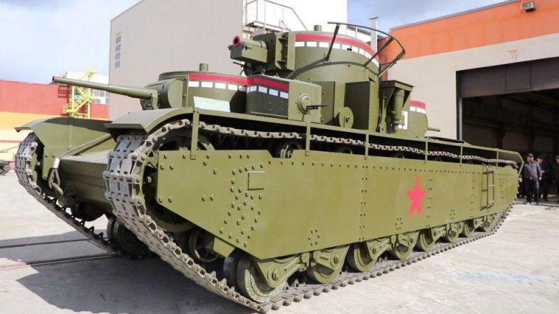 Советские тяжелые танки времен Великой Отечественной войны