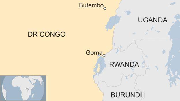 Случай лихорадки Эбола зафиксирован в крупном городе Гома