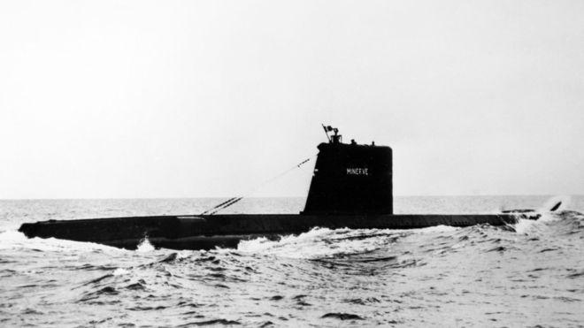 Во Франции обнаружили затонувшую 50 лет назад подлодку