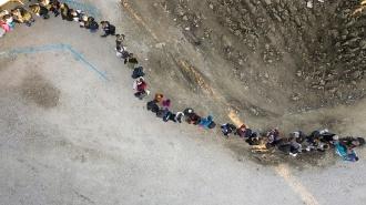 Миграционный кризис в Европе: взгляд с беспилотника