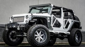 Jeep Wrangler «Белая Бетти»