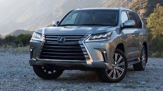 Lexus раскрыл внешность и «начинку» обновленного LX 570