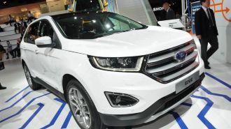 Ford Edge выходит на рынок Европы