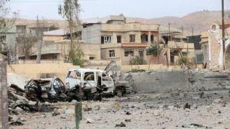 В Мосуле ИГИЛ вывесили на столбах несколько десятков тел