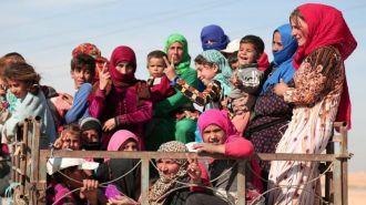Американская авиация убила 20 гражданских возле города Эр-Ракка