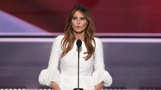 Меланья Трамп опровергла незаконную работу моделью в США