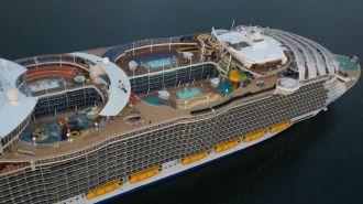 На крупнейшем в мире круизном лайнере «Гармония морей» погиб человек