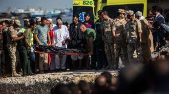 Из-за крушения судна у берегов Египта погибли сотни беженцев