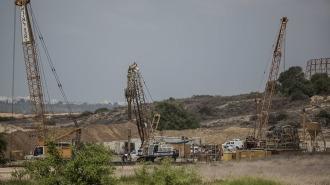 Израиль начал строить подземную стену в секторе Газа