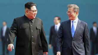 Лидеры Северной и Южной Кореи встретились и договорились дружить