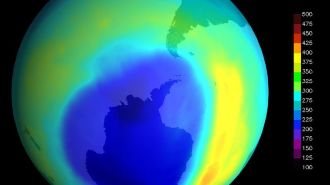 В 2019 году размер озоновой дыры над Антарктидой сократился до минимума за три десятилетия