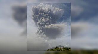 Из-за извержения вулкана Суфриер на острове Сент-Винсент эвакуировали 16 тыс. человек