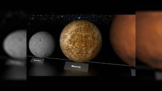 Сравнение размеров планет и звезд