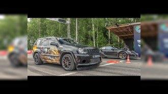 Jeep SRT8 Turbo vs Porsche 911 Turbo S