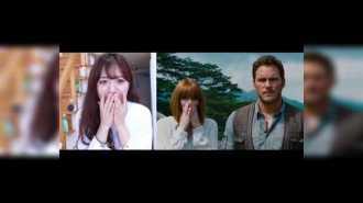 """Девушка из Кореи пародирует трейлер к фильму """"Мир Юрского периода"""""""