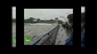 Тайфун в Китае сейчас 30.09.2015